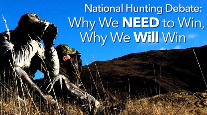 National Hunting Debate: Why We Need to Win, Why We Will Win