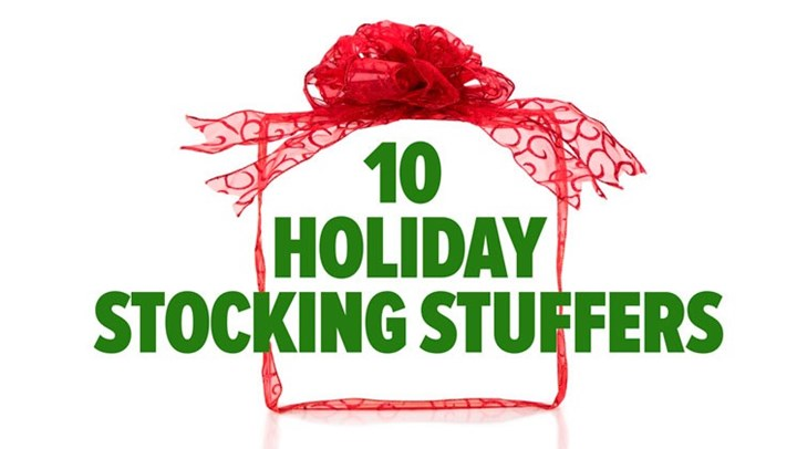 10 Holiday Stocking Stuffers