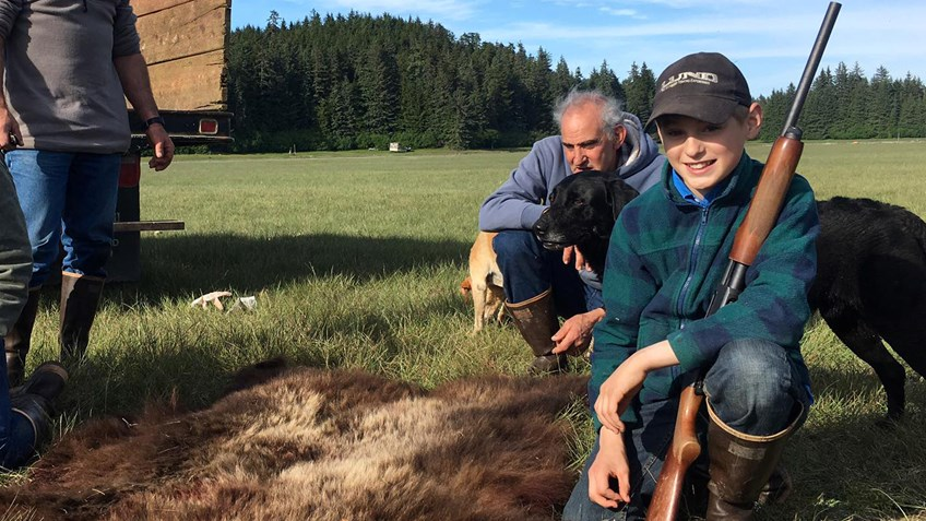 Armed 11-Year-Old Saves Family from Charging Bear