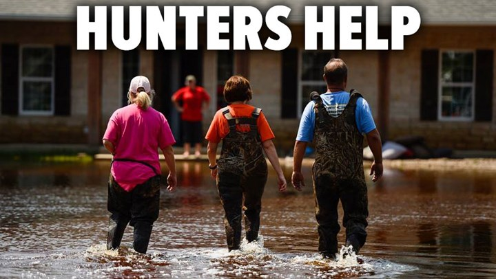 Hunters Lead Charge in Aiding Hurricane Relief Efforts