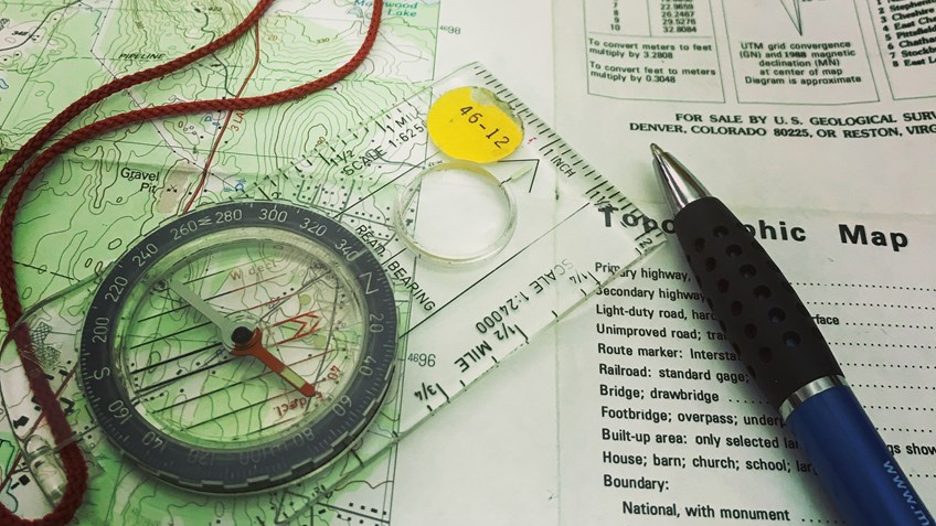Map and Compass Course Sets Path to Hunter Confidence
