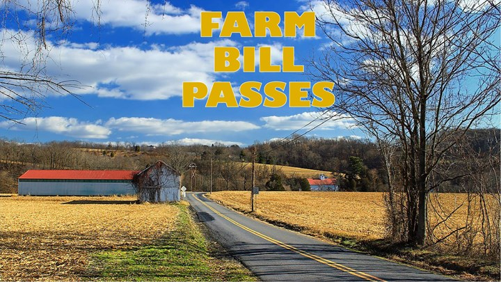 Congress Passes a Farm Bill Packed with Conservation
