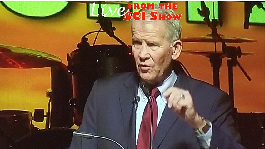 NRA President Oliver North Opens 2019 SCI Hunters' Convention