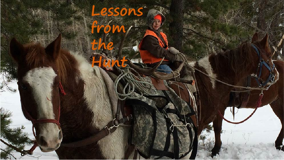 A Hunter's Duty Includes Leaving the Hunting Legacy Intact