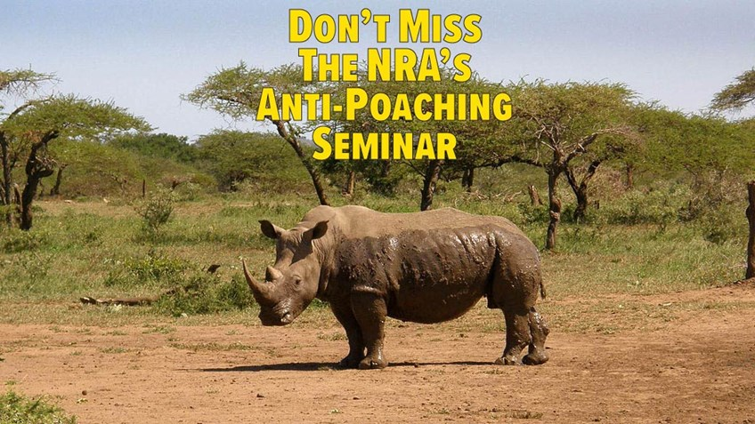 Global Anti-Poaching Experts to Speak at NRA Show in Indy