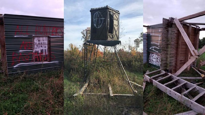 Anti-Hunters Vandalize Treestands, Harass Hunters in Wisconsin