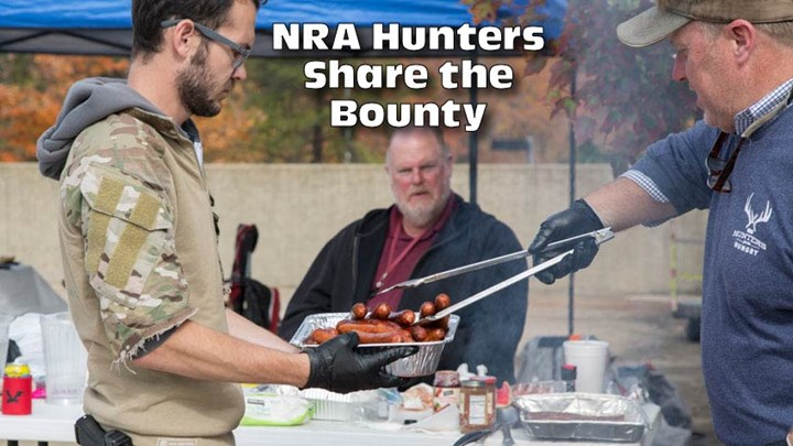 NRA Employees Celebrate Hunting at Wild Game Luncheon