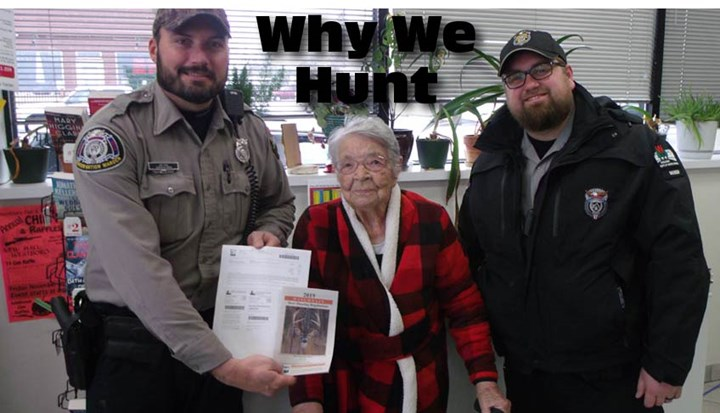 104-Year-Old Woman Takes First Buck