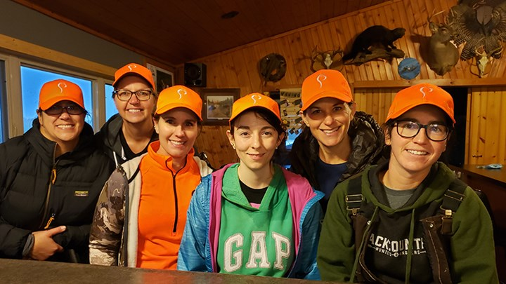 Social Media Brings Together Women New to Hunting