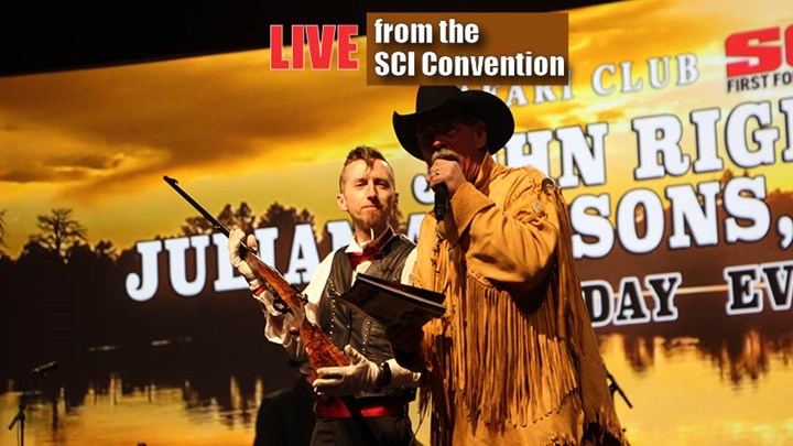 SCI Show Showcases Hunting History at Rigby Booth