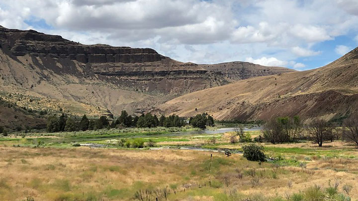 Public access for sportsmen was secured by the BLM and USFWS along the John Day River in Oregon.