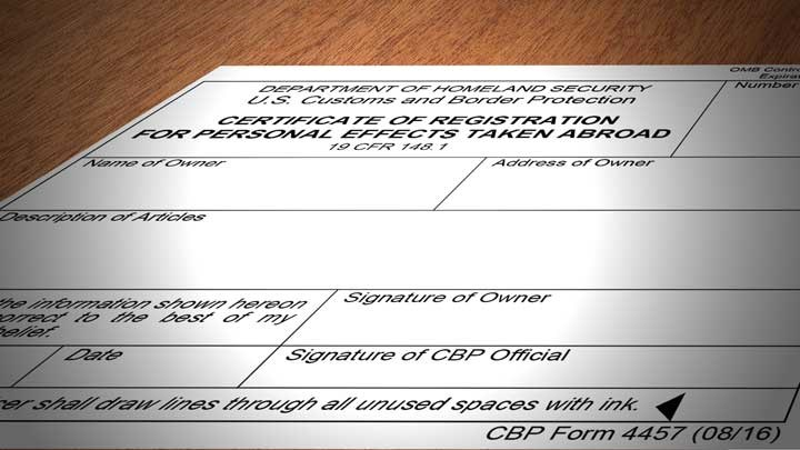 Why Hunters Need U.S. Customs Form 4457 When Hunting Abroad