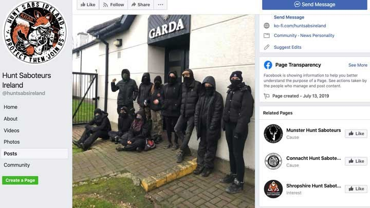 Hunt Saboteurs Terrorize Hunters, Disrupt Hunts in Ireland