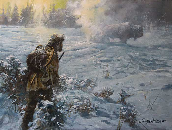 """Colter's Hell"" is the story of a real mountain man who began his career with the Lewis and Clark expedition. Read his story at Sporting Classics Daily. (Courtesy of www.Seerey-Lester.com.)"