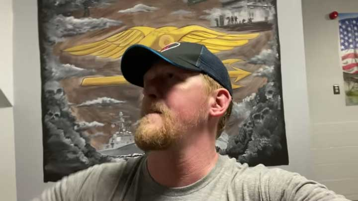"""Robert J. O'Neill, former U.S. Navy SEAL who killed Osama bin Laden is one of many pro-hunting celebs that appear in Mat Best and Tim Montana's """"Quarantine"""" video."""