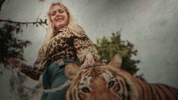 "Carole Baskins of Big Cat Rescue is hellbent on destroying operations like the one operated by Joe Exotic. Netflix's ""Tiger King"" makes exciting viewing, but is in no way representative of big cat conservation efforts in the wilds of Africa. (Screenshot from Netflix's ""Tiger King"" Trailer.)"