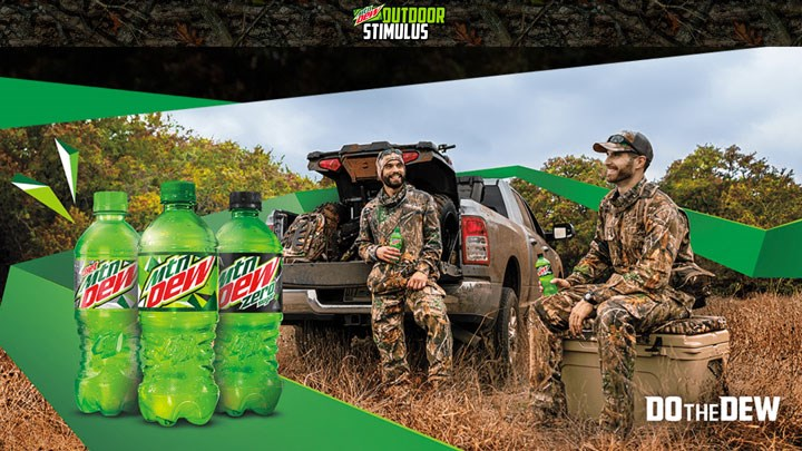 Mountain Dew Spending $100K Helping Outdoorsmen Buy Hunting and Fishing Licenses